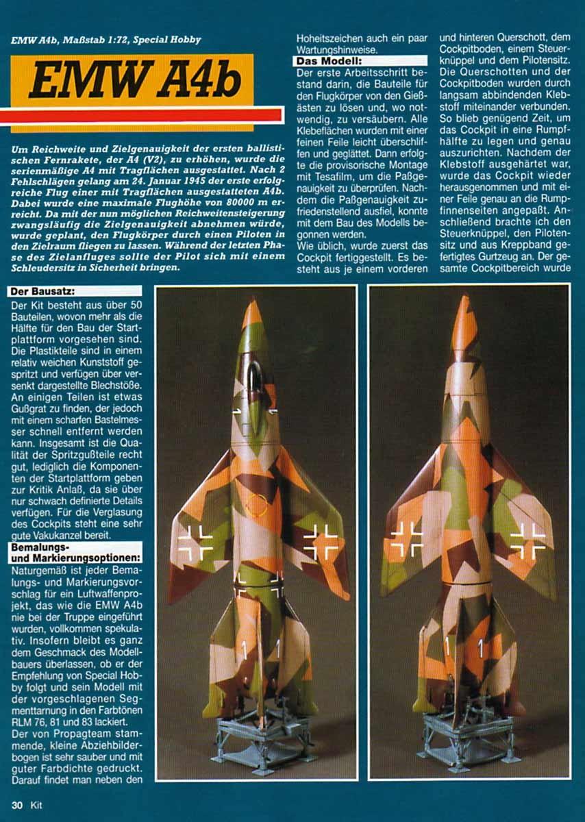 V2ROCKET COM - Scale V-2 Rocket Models