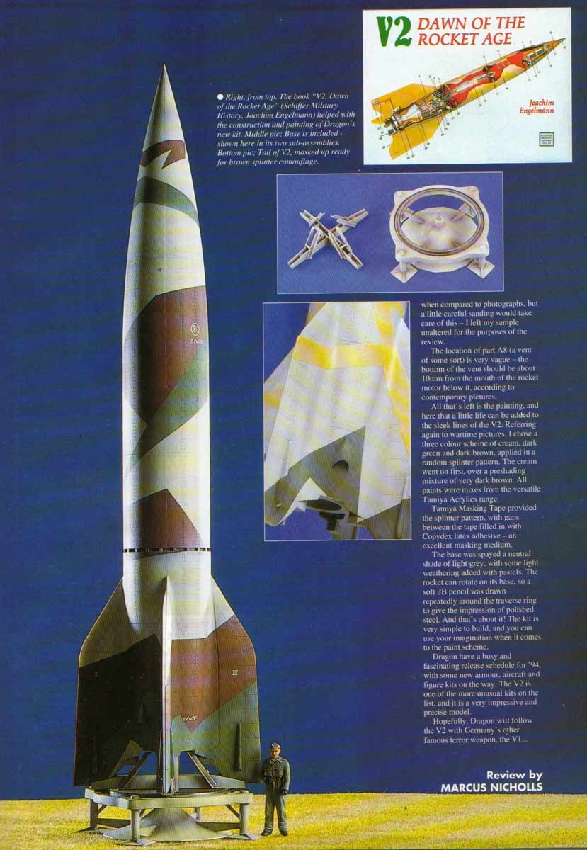 V2ROCKET COM - Scale V-2 Rocket Models